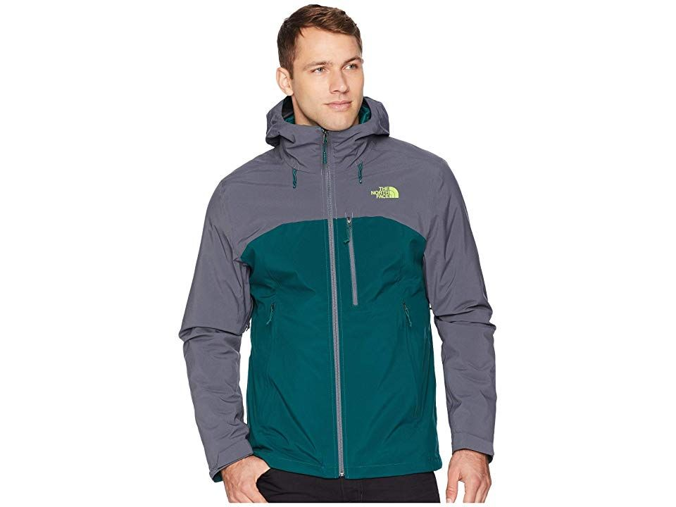 4b35cef6e501 The North Face ThermoBall(r) Triclimate(r) Jacket (Botanical Garden  Green Vanadis Grey) Men s Coat. The North Face ThermoBall Triclimate Jacket  is a ...
