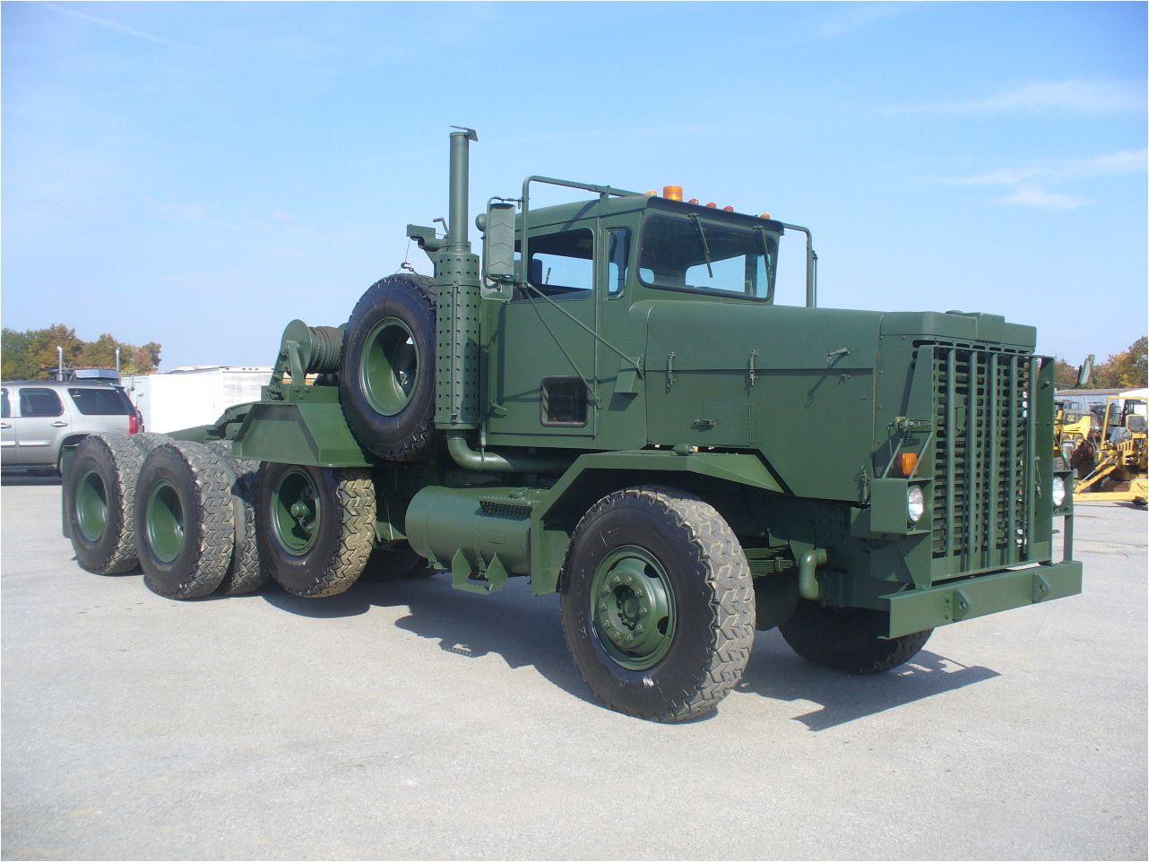 1979 OSHKOSH M911 Tri Axle Semi Truck - Brandywine Trucks ...