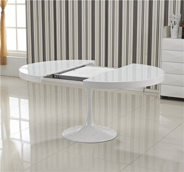 Table Extensible Blanche