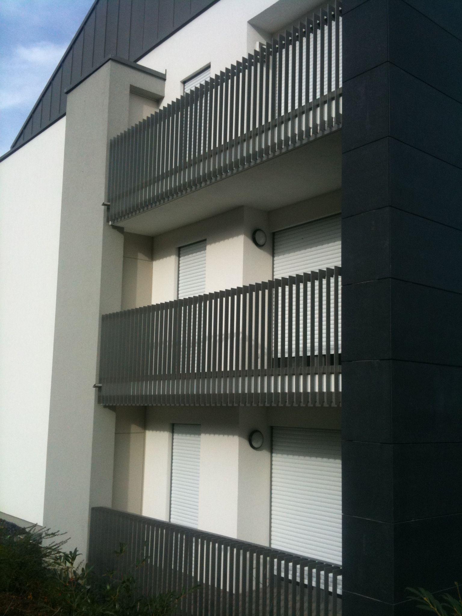 Gut gemocht Aluminium-Flachstahl-Geländer-Preis auf Anfrage   Balkon in 2019 ZV19