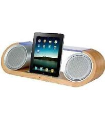 Marks And Spenceru0027s Sonoma Ipod/Ipad Docking Station Wood And Silver Brand  New