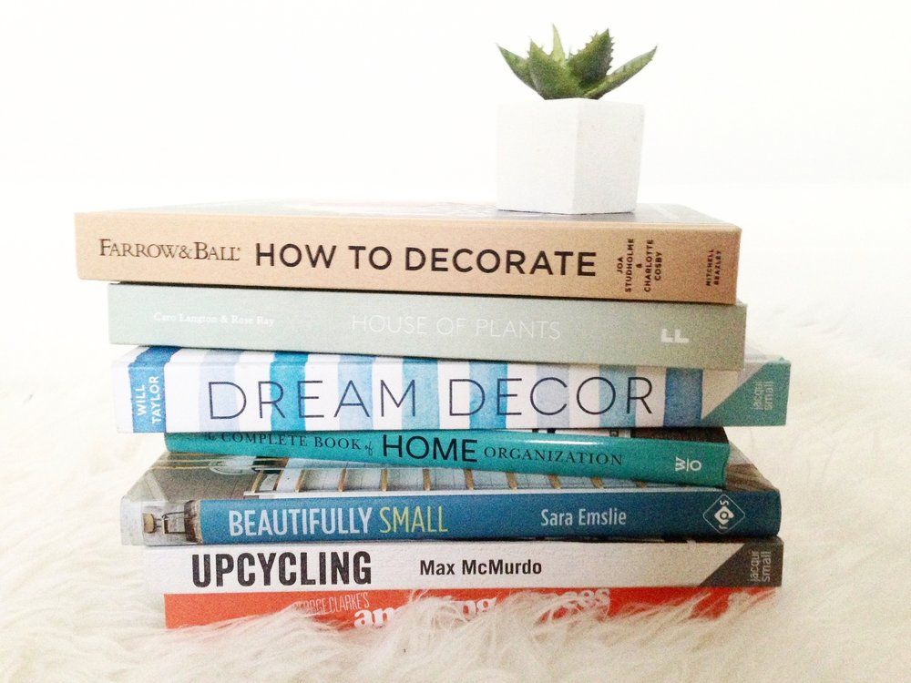 From small space storage ideas to being brave with colour, I've rounded up   my top 7 home decoration books that have all the answers to life's   decorating woos.