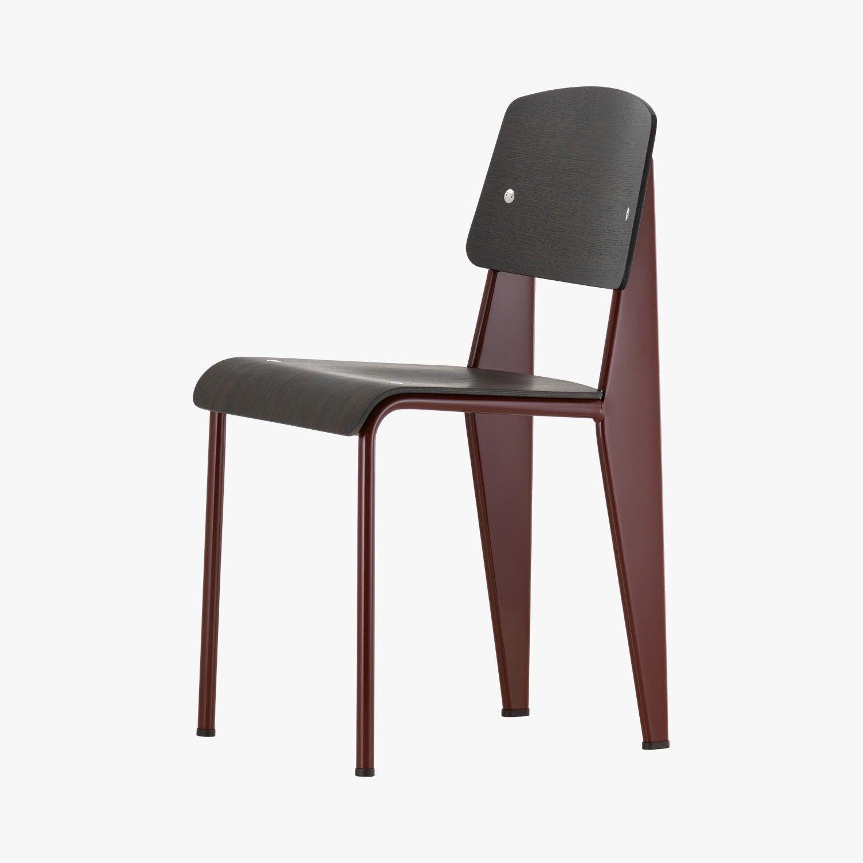Chaise Standard Plastic Jean Prouve 1934 1950 Vitra Vitra Stuhl Stuhl Design Moderne Esszimmerstuhle