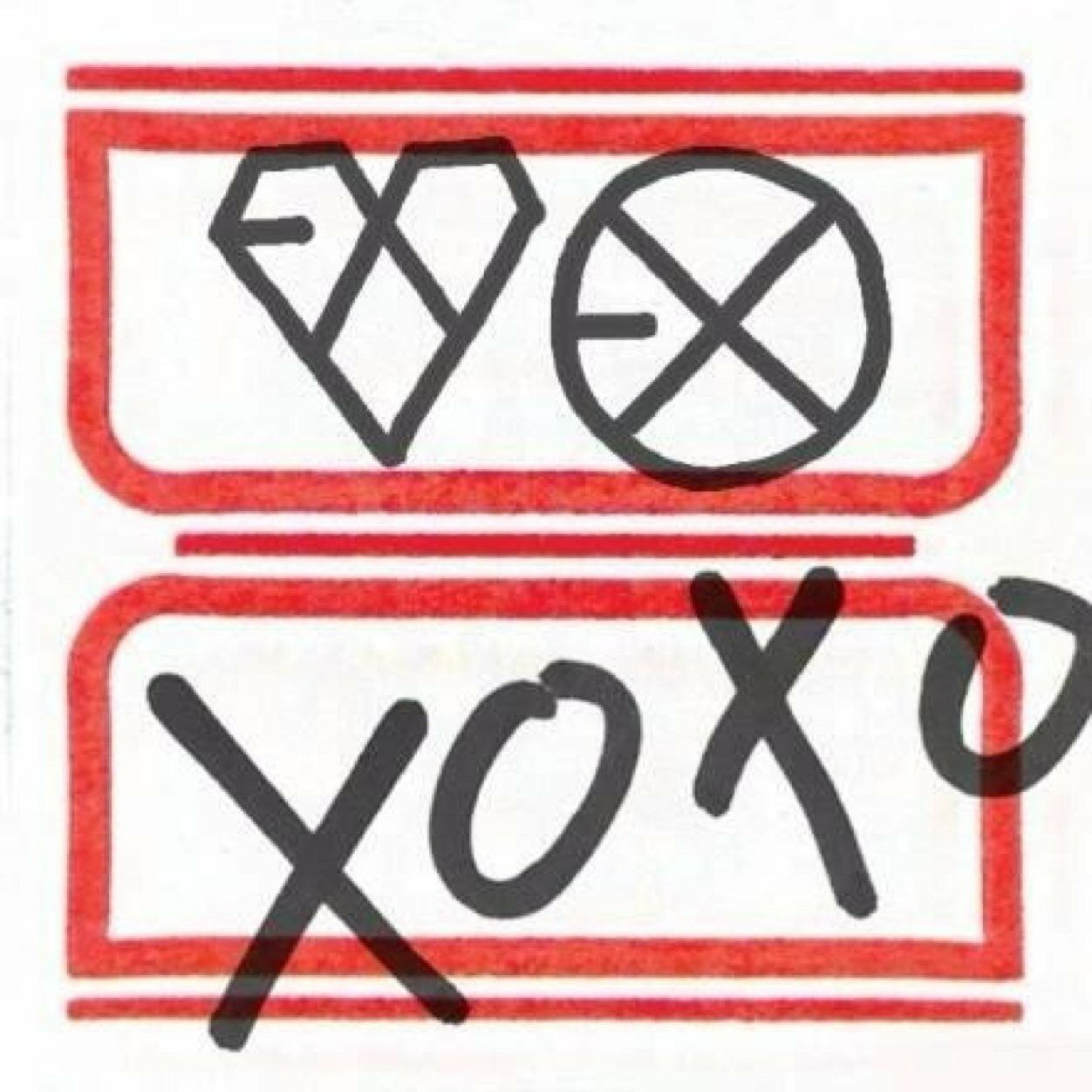 Exo xoxo album image by TYTrack 💅👑 on EXO Albums | Xoxo album ...