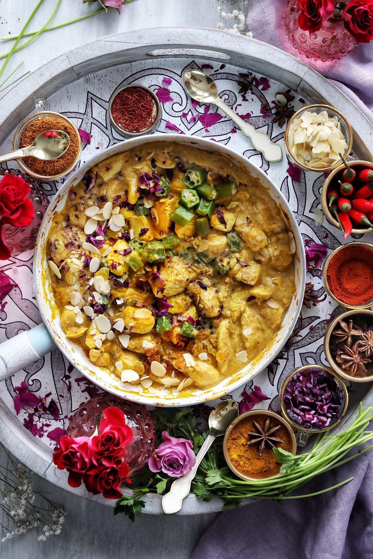 Patak S 3 Step Chicken Korma Medley With Almonds Golden Raisins Recipe Chicken Korma Korma Recipe Korma