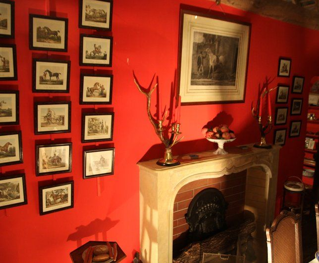 Decoration Salon Moderne Gris Rouge Valoblogicom