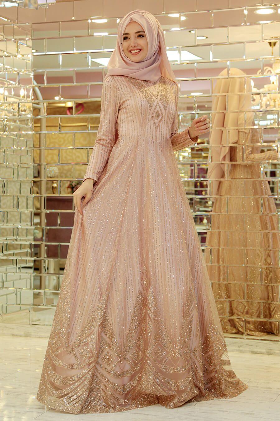 2018 Gamze Ozkul Abiye Elbise Modelleri Tesettur Abiye Elbiseleri Tesettur Giyim Formal Dresses Long Fashion Dresses