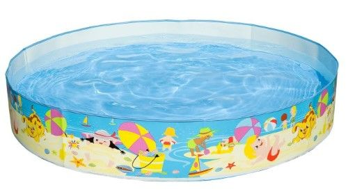 Intex Beach Days Snapset Instant Kids Childrens Swimming Pool 56451EP, Multi