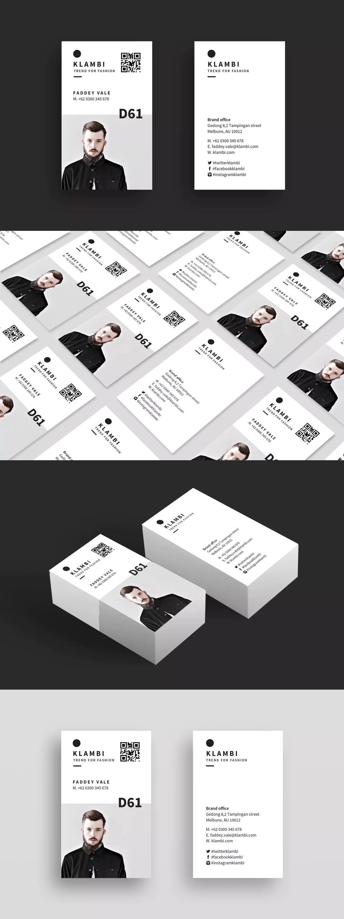 Business card template indesign indd business card templates business card by boxkayu on envato elements reheart Choice Image