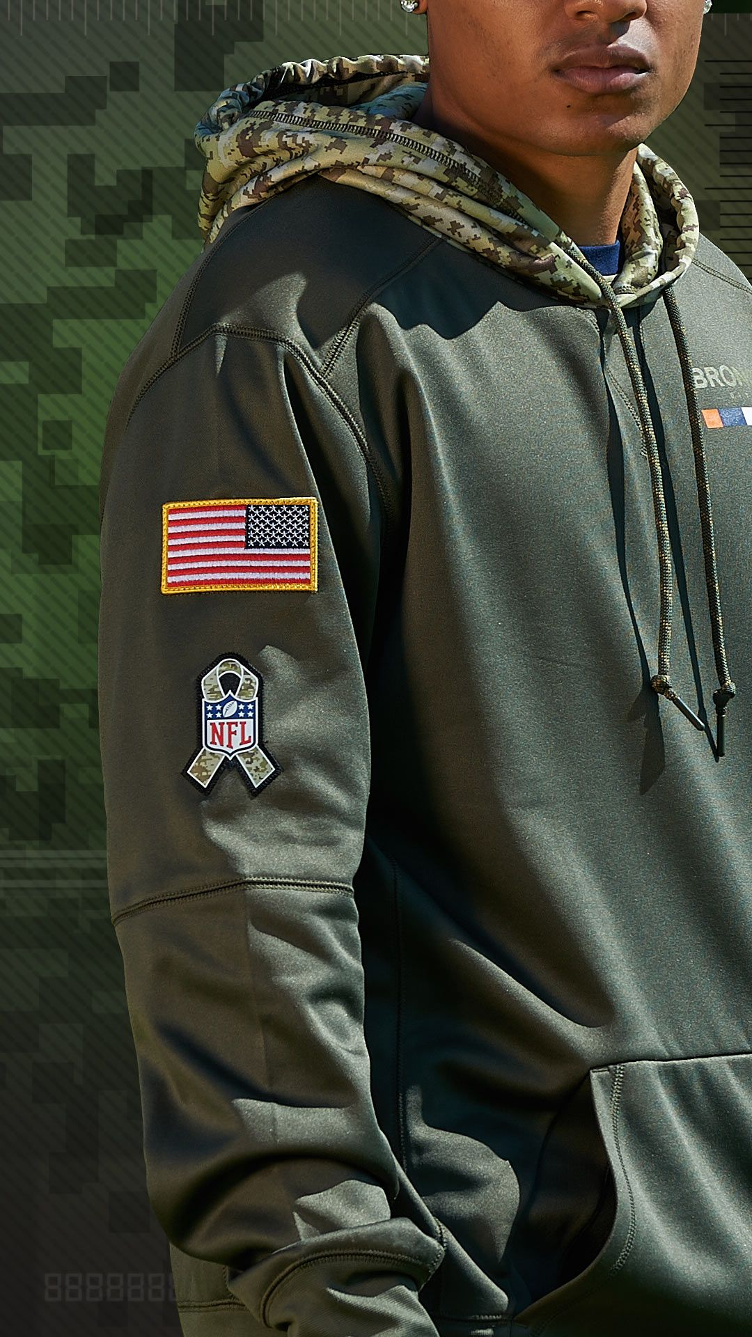 innovative design 5fa4a 0ecca Show your support from the sidelines. The #NFL Salute to ...