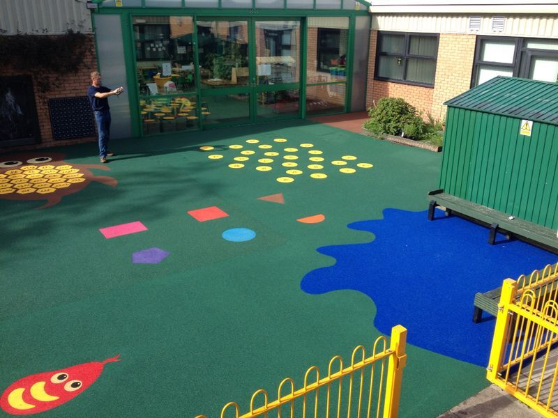 Rubber Play Surfacing Builders Playground surface