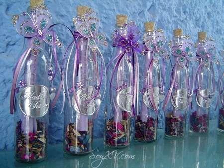 Decoracion de botellas para primera comunion 3 - Decoracion de botellas ...