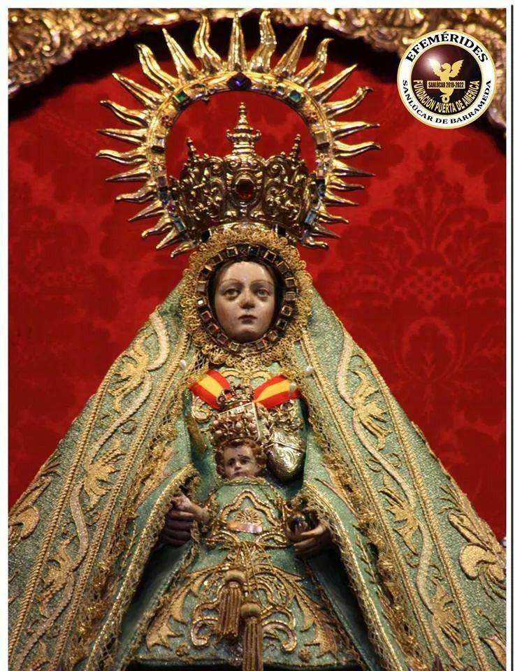 Virgen De La Caridad De Sanlucar Barrameda Cádiz Fundación Puerta De América Virgen De La Caridad Caridad Arte Religioso