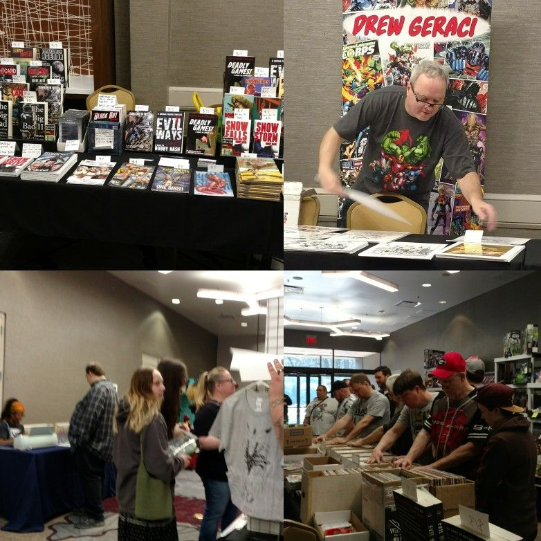 All Set Up And Ready To Go At The #AtlantaComicConvention