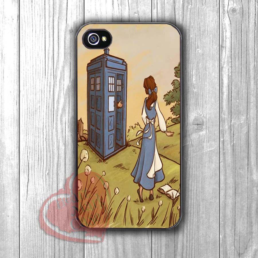 Princess Belle Tardis iphone case
