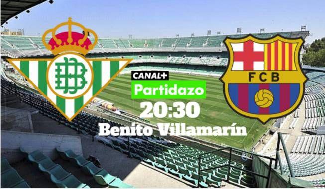 Ya tenemos onces del partido entre el RealBetis y el FCBarcelona_es https://t.co/J1aCbbqjk4 https://t.co/q4xIdmu3eH  Ya tenemos onces del