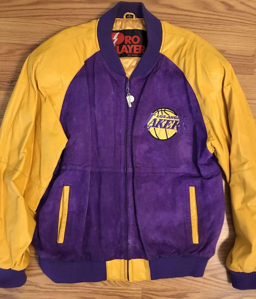 2002 Lakers Jeff Hamilton Three Peat Nba Championship Leather Jacket Limited Xs Jackets Retro Jacket Leather Jacket