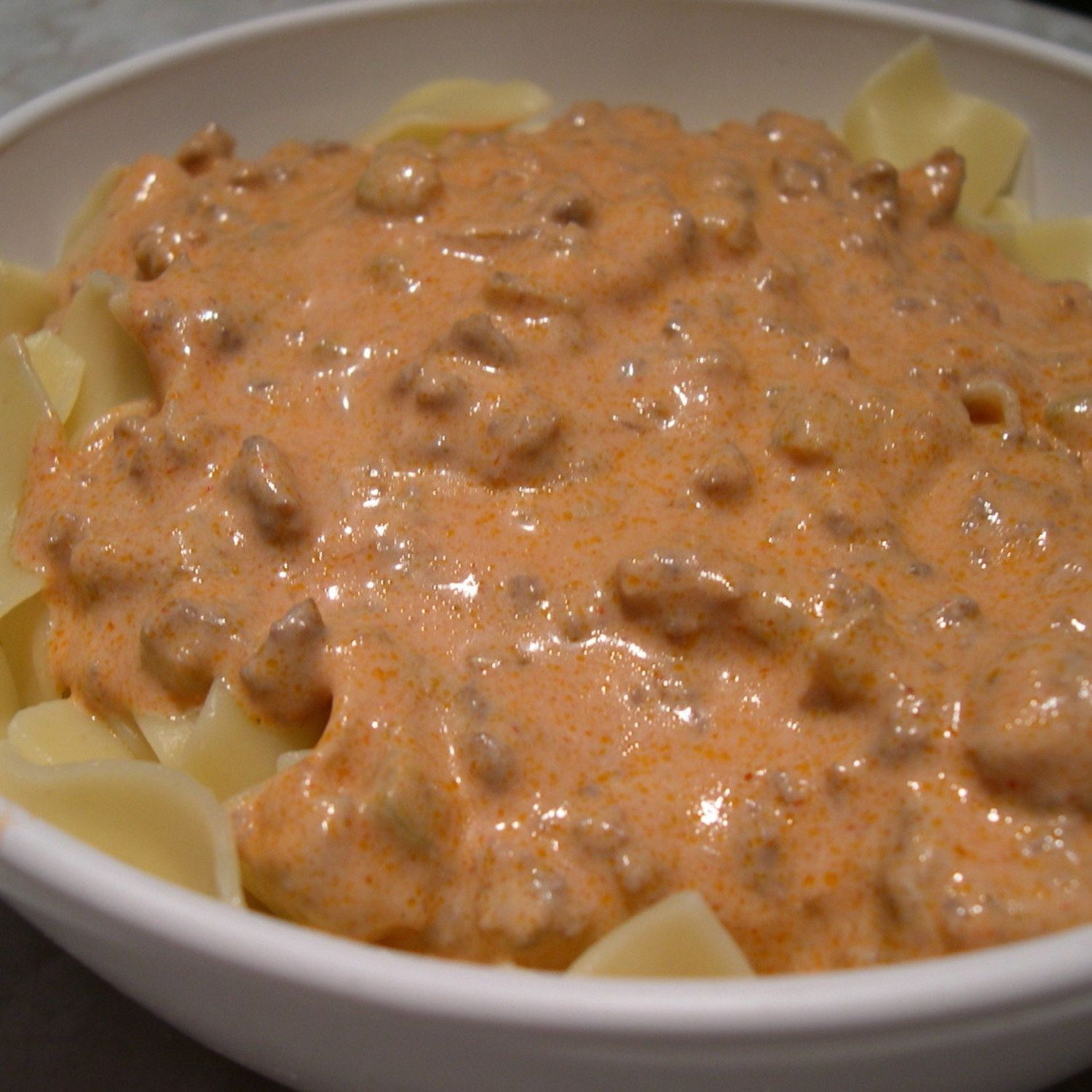 Photo of Ground Beef Skillet Paprikash