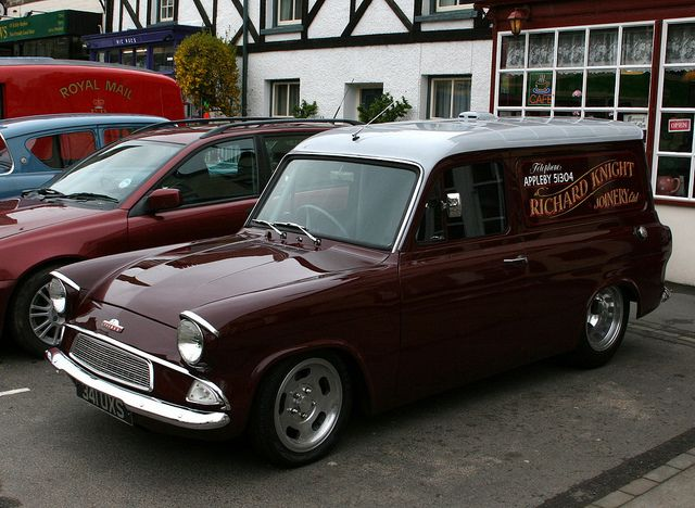 Ford Anglia Van Kirkby Steven 327 Ford Anglia Ford Classic