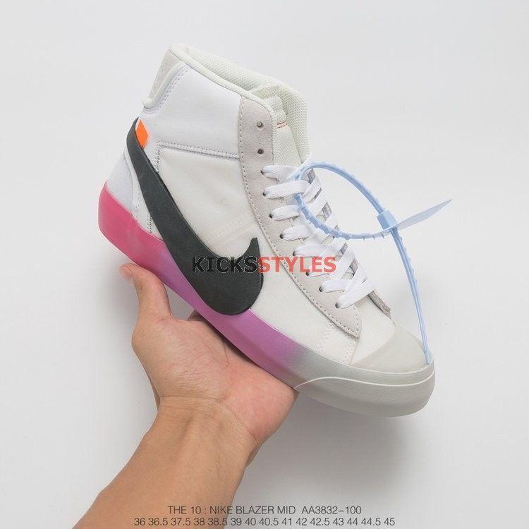 63247605042 Serena Williams Off-White x Nike Blazer Mid Queen Custom | Off-White ...