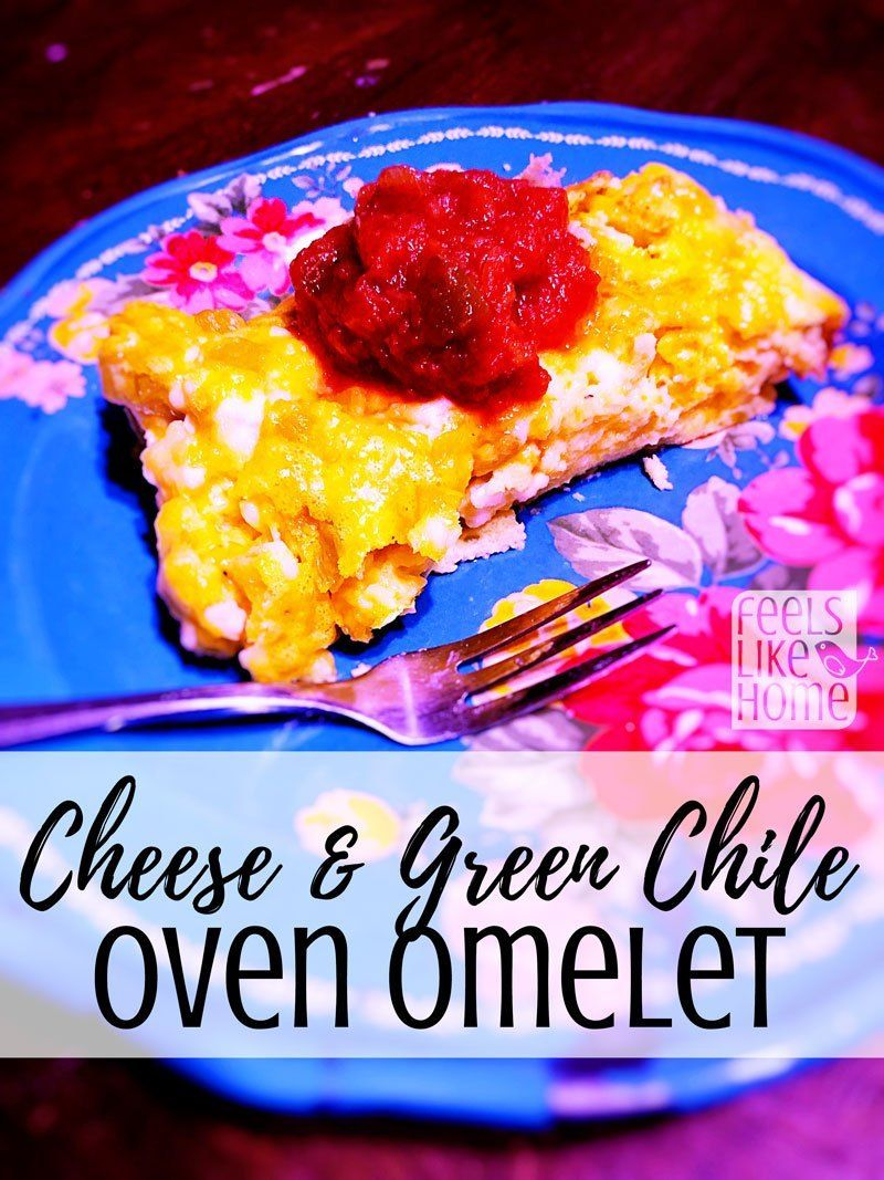How to make a quick and easy oven omelette recipe with