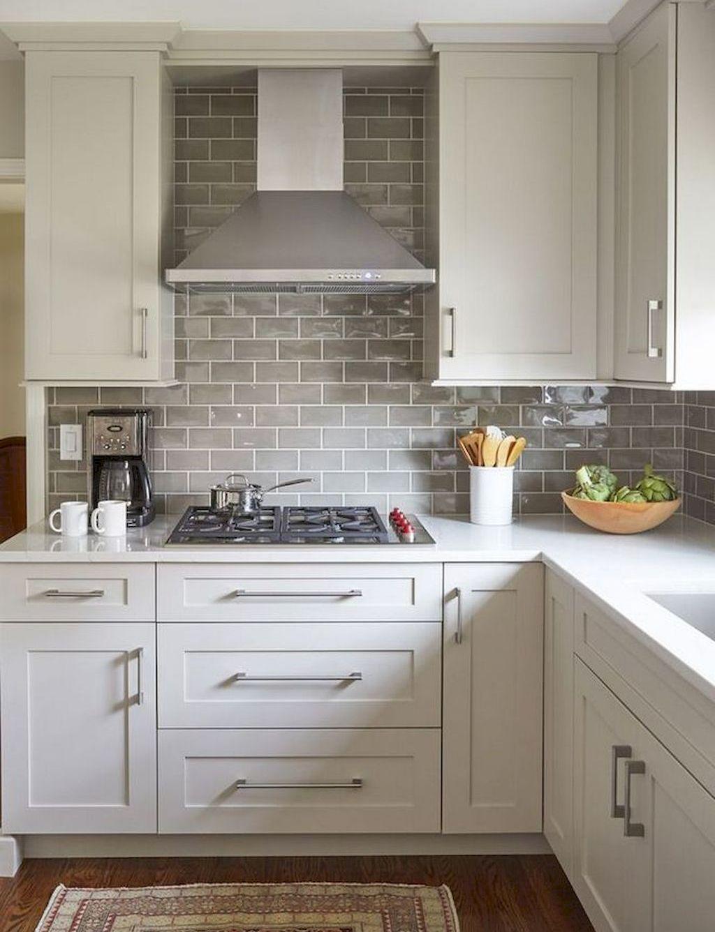 45 Elegant White Kitchen Design Ideas in 2020 Kitchen