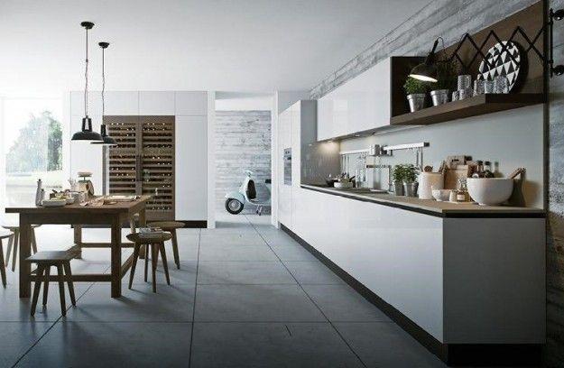 Cucine bianche - Cucina in vetro   Interiors