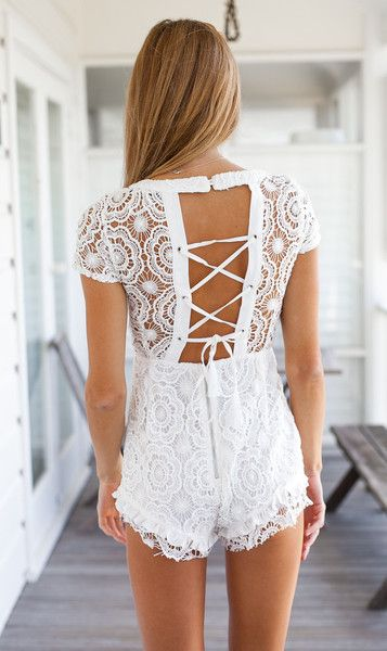 Shop Kailua Playsuit at Mura Boutique online now. Shop more beautiful playsuits here!