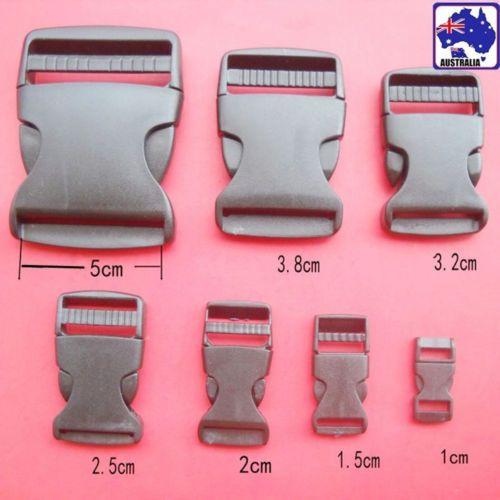 10pcs-Black-Plastic-Bag-Buckle-Quick-Release-Clip-Belt-Backpack-Luggage-CKBUT-93