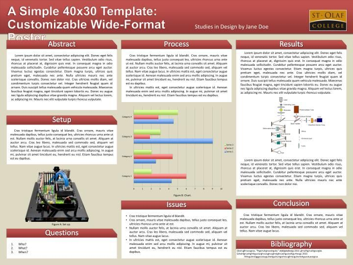 science research poster template
