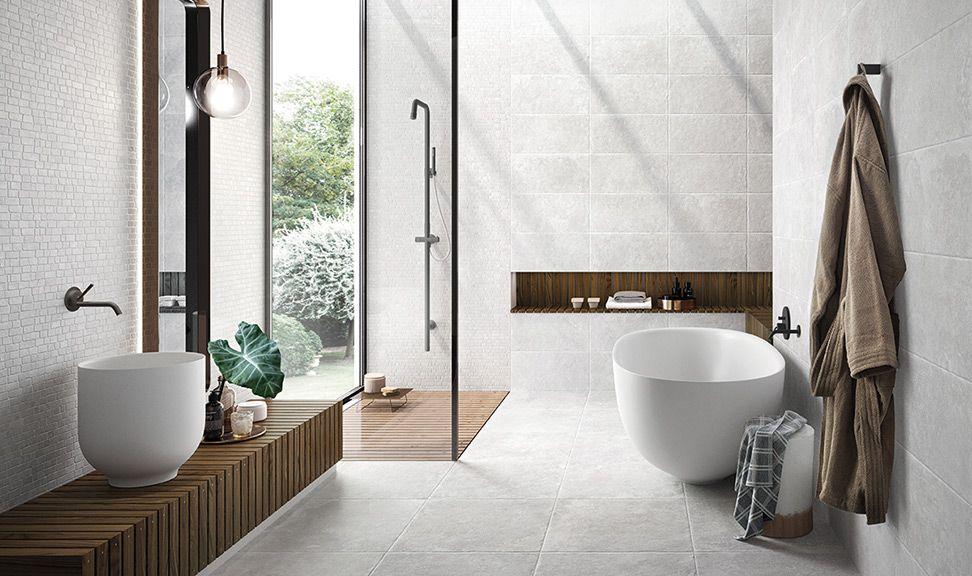 Badkamer Lichte Tegels : Lichte getrommelde tegels in de badkamer wat een sfeer! 16 ha