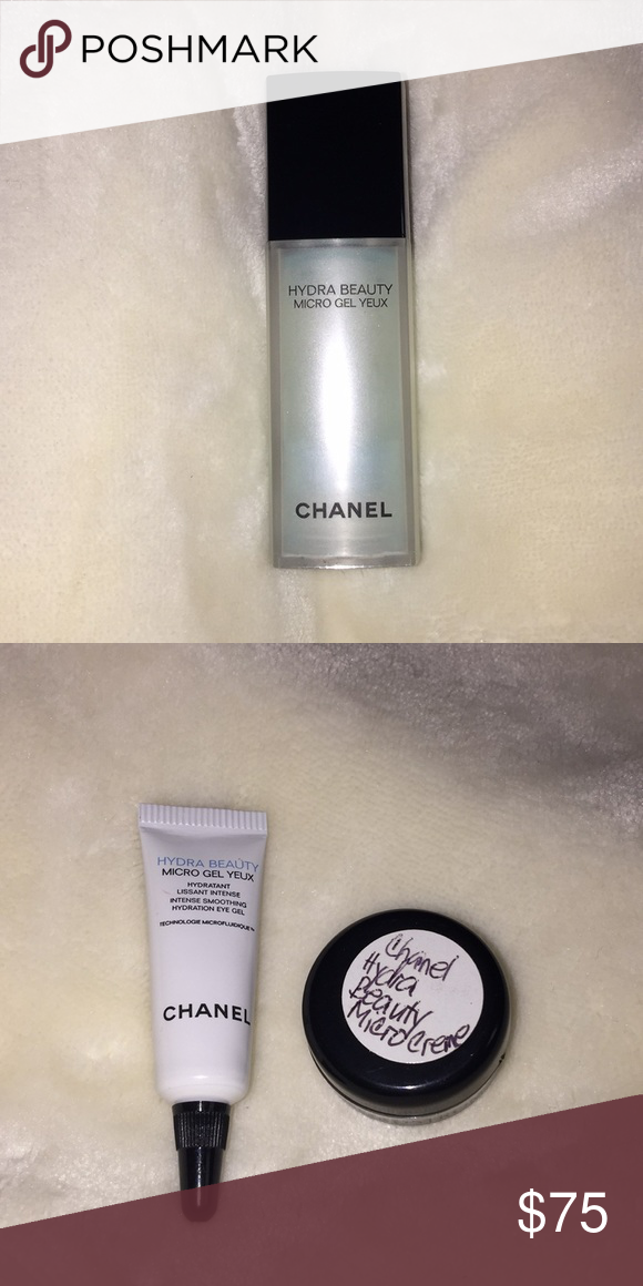 Chanel skincare A hydrating eye gel with patented micro-droplet technology  for immediate and 24 9ddb389dac