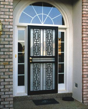 Zen Home Security Page Security Storm Doors Reinforce Your Regular Door And On Sunny Days You Can Open Your Door For L Security Storm Doors Doors Home Safety