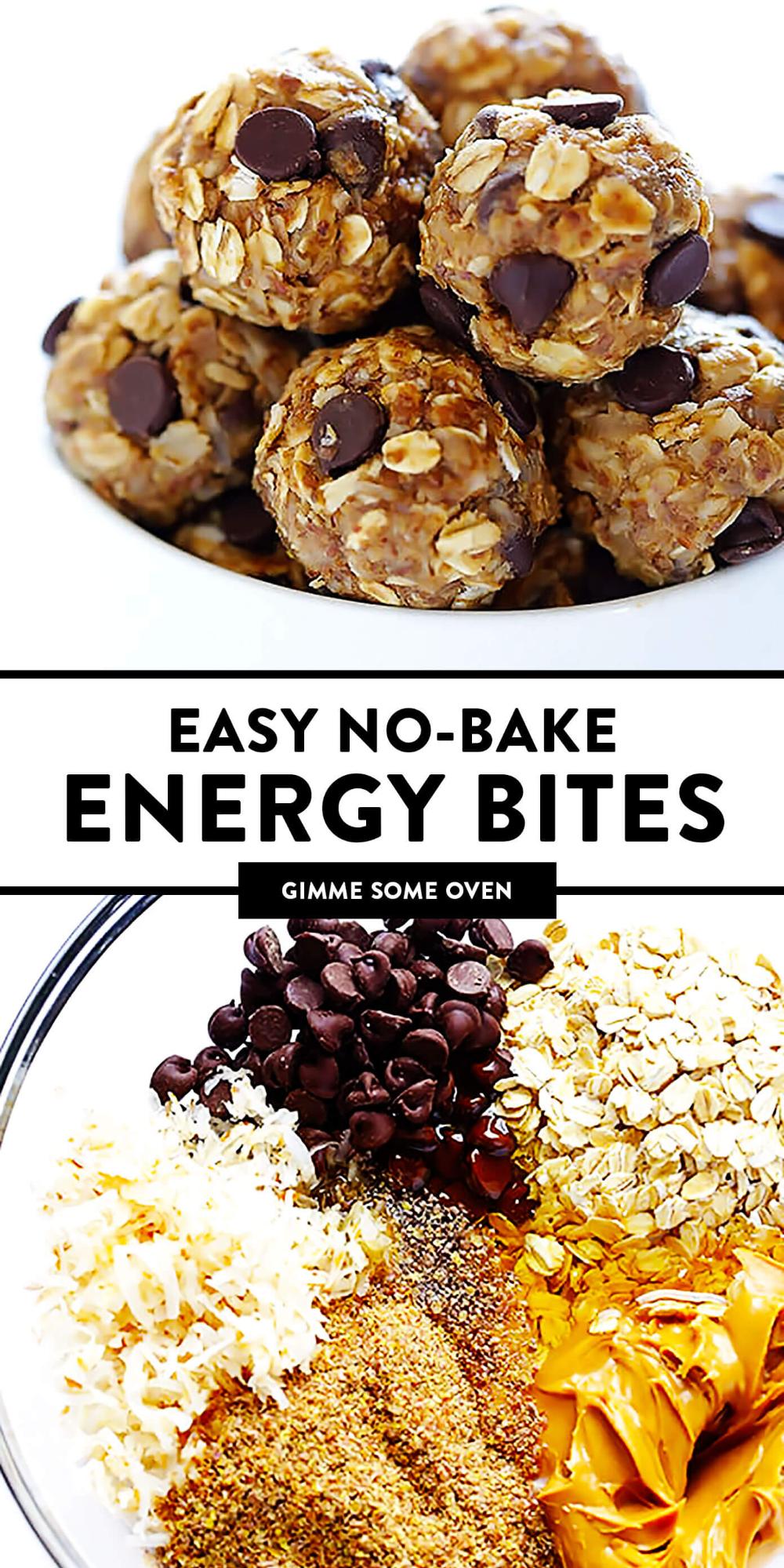 No Bake Energy Bites   Gimme Some Oven