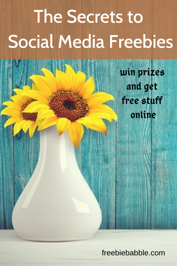 The Secrets To Social Media Freebies | How To Get Free Stuff