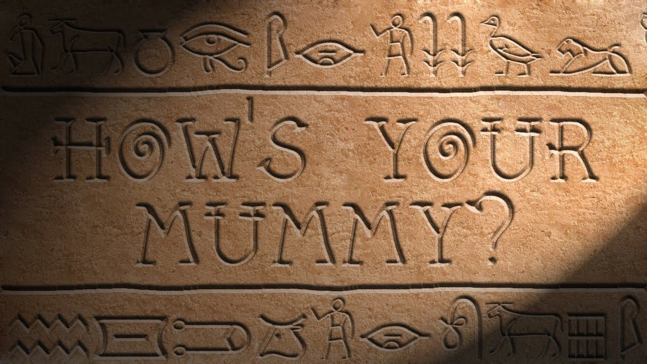 How to Carve Egyptian Hieroglyphics in Photoshop | ancient