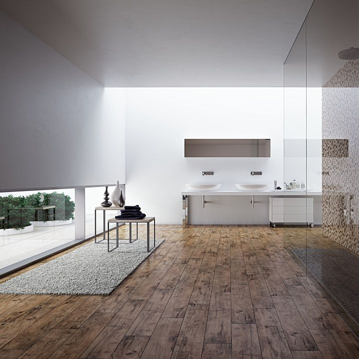 Selvas Light Wood Effect Floor Tiles Have A Lovely Natural Matt