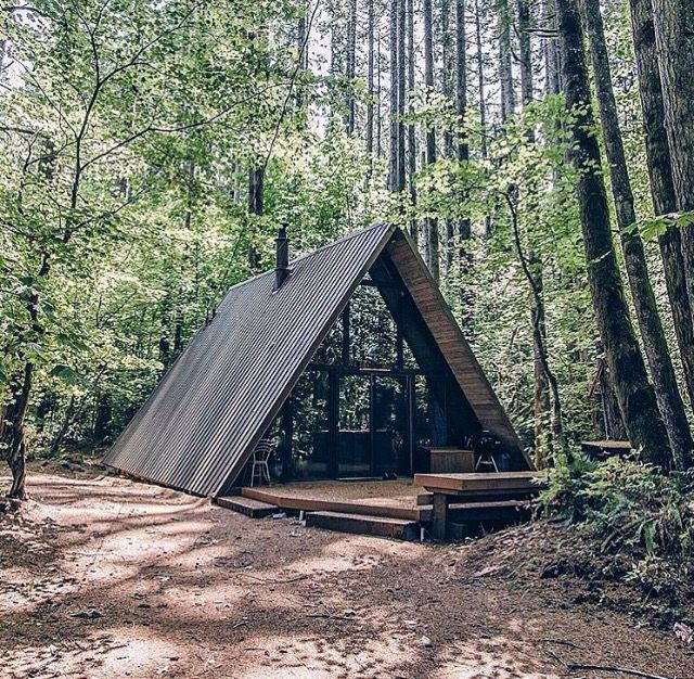 Frame Cabin Modern Cabins The Woods Log Casa Structura Lemn Forma Literei
