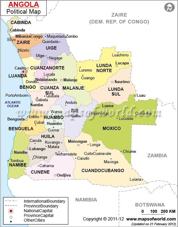 Angola eu vivi aqui MAP Pinterest Africa Vacation