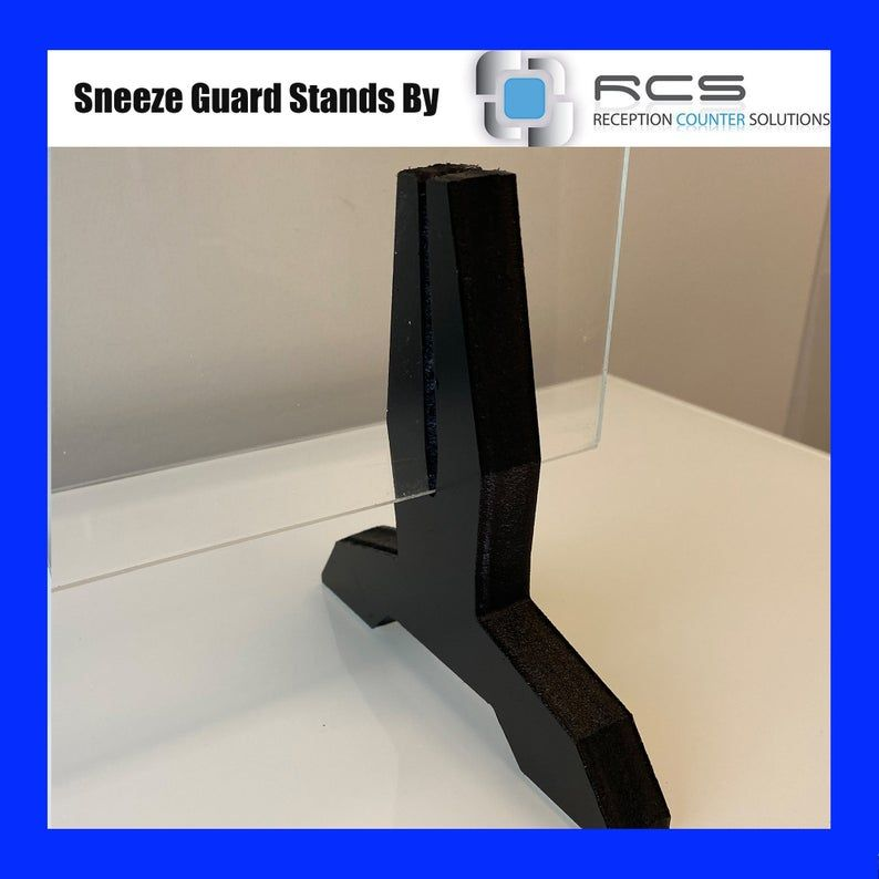 Sneeze Guard Feet Sneeze Guard Stand Fits 1 8 1 4 Sheet Etsy In 2020 Sneeze Guard Sneeze Guards Guard