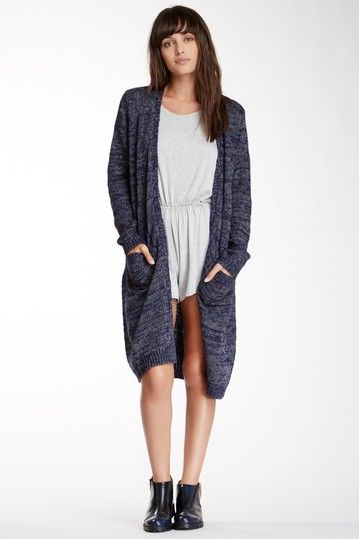 Heathered Knit Duster Sweater by Cecico on @HauteLook