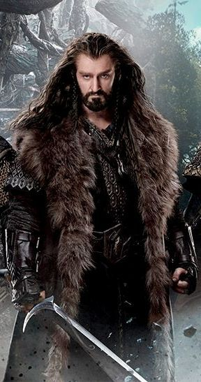 Thorin, son of Thrain, son of Thror King Under the Mountain