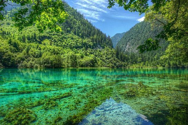 Jiuzhaigou Valley Sichuan China  #landscape #jiuzhaigou #valley #sichuan #china #photography