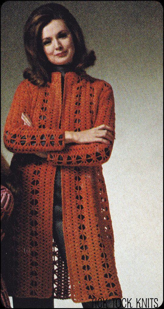 No.141 PDF Vintage Crochet Pattern - Instant Downl