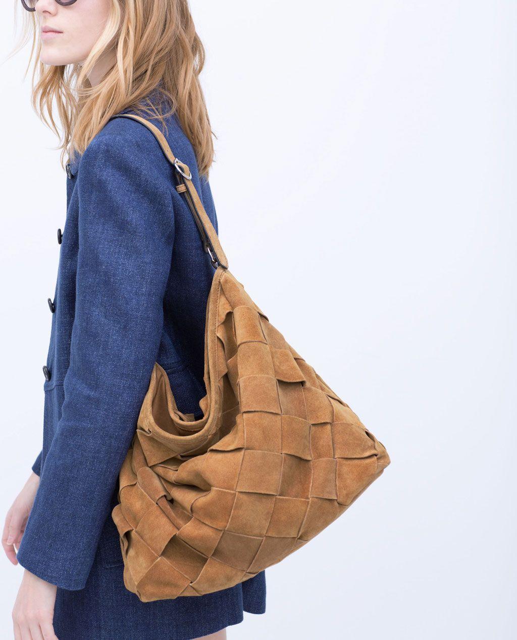 Immagine 5 di SACCA SUEDE INTRECCIATA di Zara