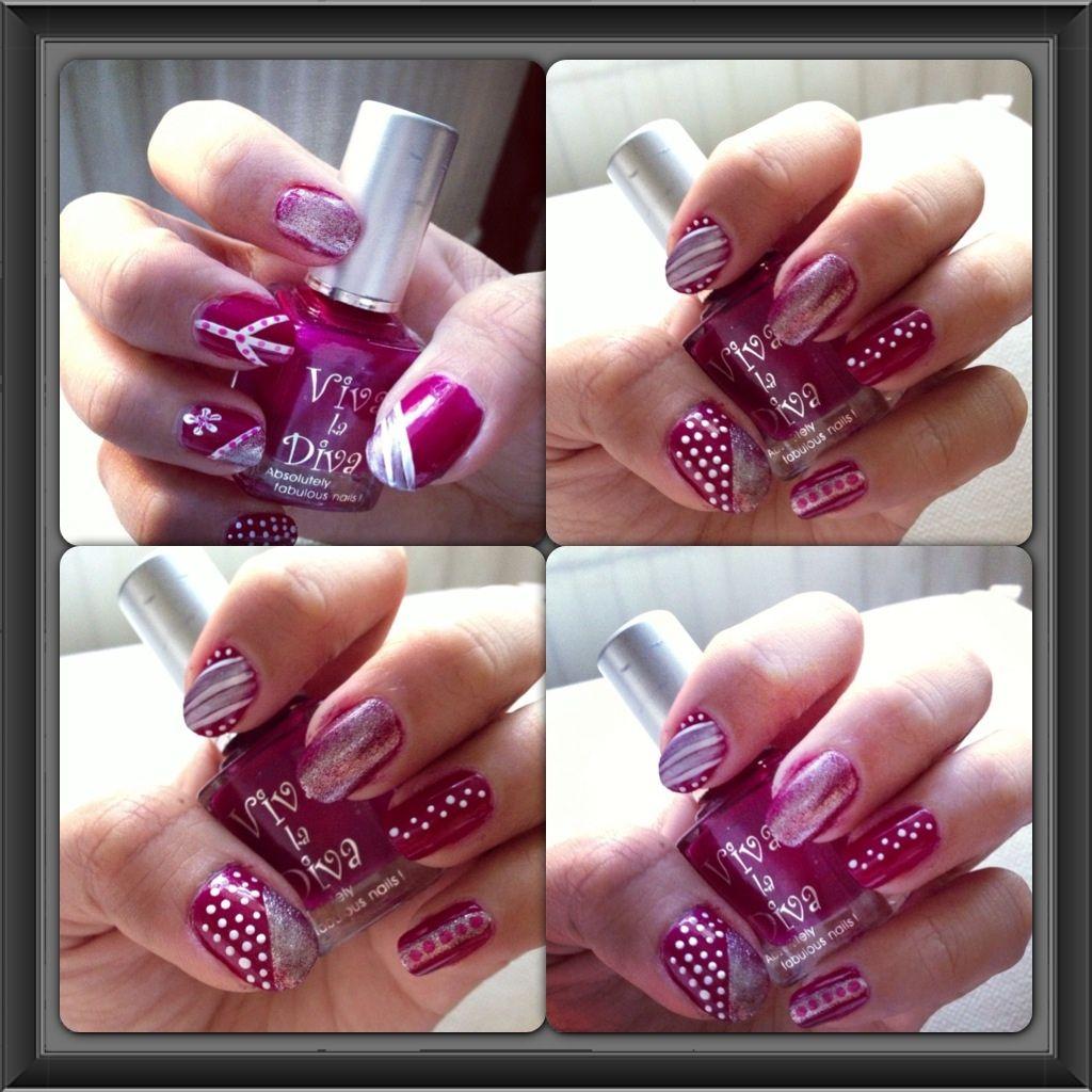 Valentines Inspired Nail Art!