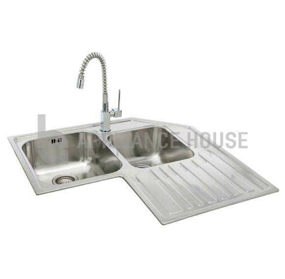 Kitchen Sinks Phoenix Carron phoenix lavella 888 stainless steel sink appliance house uk stainless steel kitchen sinks workwithnaturefo