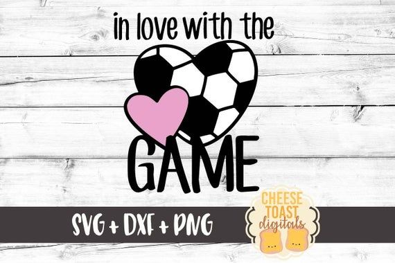 Download Sport Valentines Svg, In Love With The Game Svg, Soccer ...