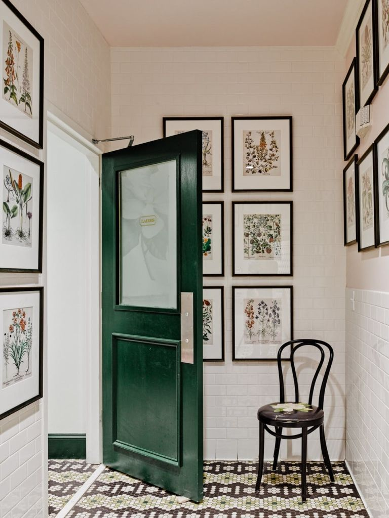 21 Rooms With Statement Making Floors And More Room Doors And Mudroom
