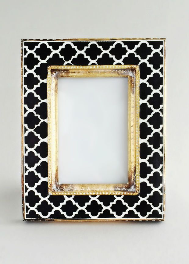 Zaza Black & White Moroccan Frame | •Things I love• | Pinterest ...
